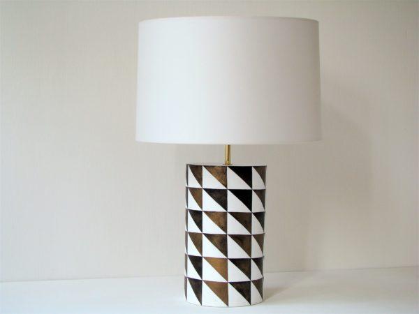 keramicka stolni lampa design rucni prace