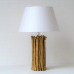 stolní lampa zlatá