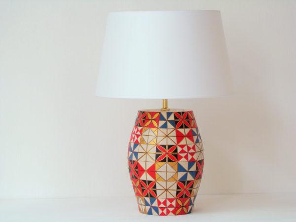 stolni lampa mozaika