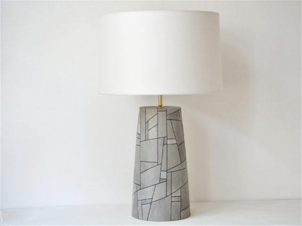 stolni lampa seda velka nadcasovy design